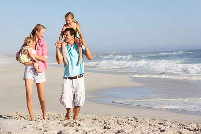 Urlaub an der Ostsee mit der Familie